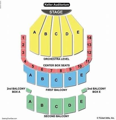 Keller Seating Chart Auditorium