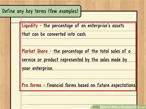 How To Write A Business Proposal (with Pictures) Wikihow