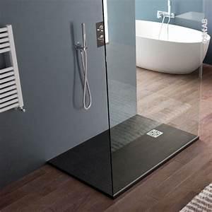 Bac A Douche Resine : receveur de douche extra plat bali r sine rectangulaire ~ Premium-room.com Idées de Décoration