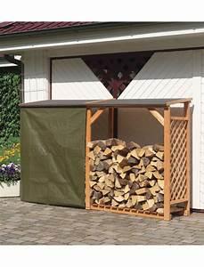 Bucher A Bois : b cher en treillis de bois avec extension ideanature ~ Premium-room.com Idées de Décoration