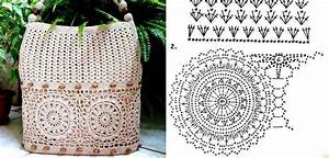 Bag - Circle Motif Band ⋆ Crochet Kingdom