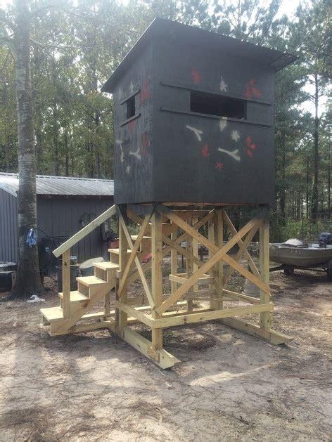 custom designed shooting houses