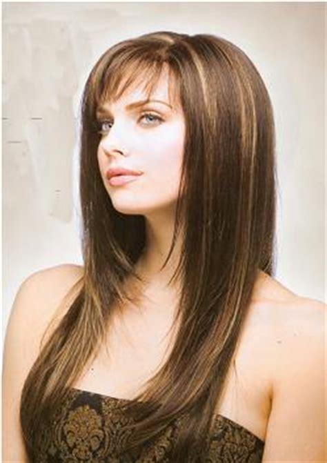 long layered hairstyles  bangs cute thin hair