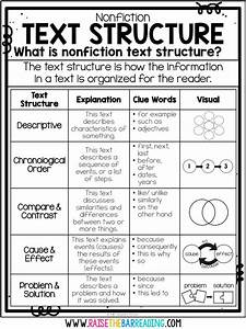 5 Ways To Teach Nonfiction Text Structure