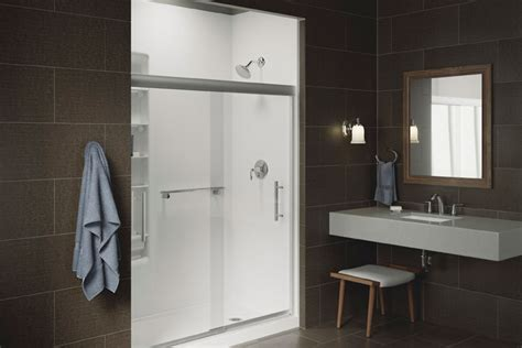 kohler walk  shower kohler luxstone showers statewide