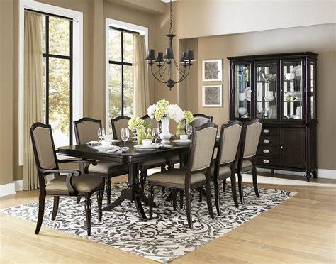 dining room sets homelegance marston 10 pedestal dining room