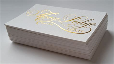 high  premium business cards  zealand  luxury