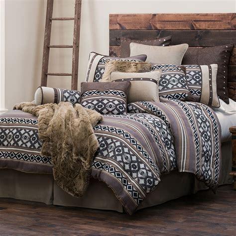 western comforter sets tucson southwestern geometric pattern western bedding set