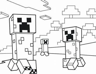 Minecraft Creeper Coloring Fun