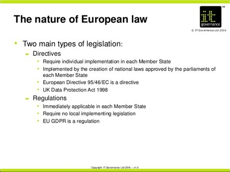 Revising Policies And Procedures Under The New Eu Gdpr