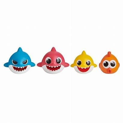 Bath Shark Pinkfong Toy Pack Squirt Wowwee