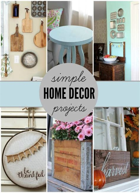 easy diy home decor simple home decor projects