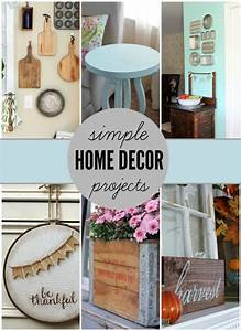 Simple, Home, Decor, Projects