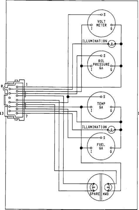92 wrangler brake lights speedmeter odometer gauges turn signals