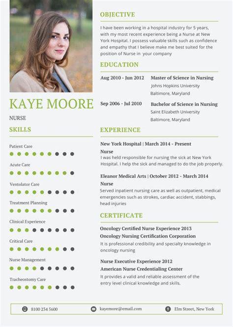 registered nurse resume    word