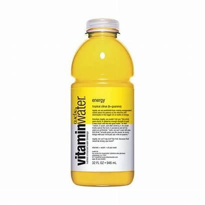 Vitamin Water Energy Citrus Tropical Vitamine Drinks