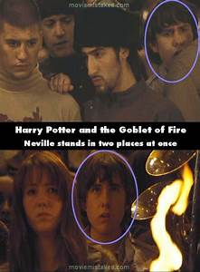 Harry Potter and the Goblet of Fire movie mistake picture 27
