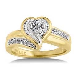 gold shaped engagement ring gold wedding rings with shape ipunya