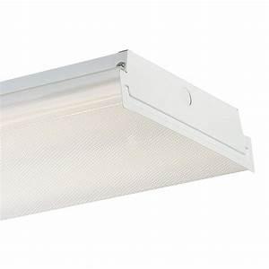 Envirolite 4 Ft  White Led Wraparound Extra Bright Ceiling