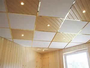 Faux Plafond Pvc : pose faux plafond pvc salle de bain ~ Premium-room.com Idées de Décoration
