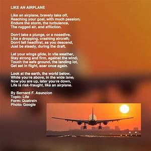Airplane, Poems, Like, An, Airplane