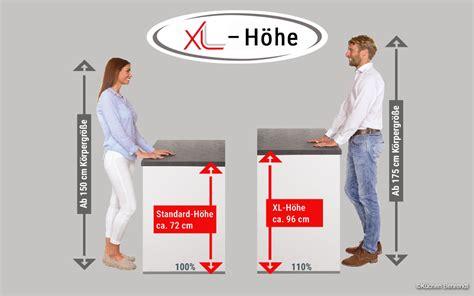 Kuechenplanung Gute Kuechen Fuer Gesunde Ruecken by Xl H 246 He Mehr Stauraum Und Komfort In Der K 252 Che K 252 Chen
