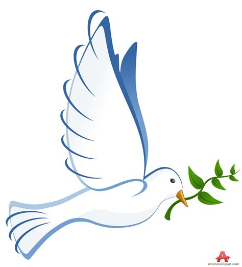 Dove Clipart Clipart Of Dove Of Peace 101 Clip