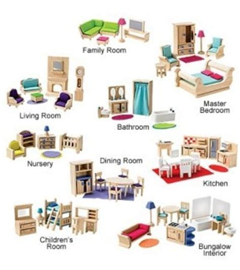 Barbie Dollhouse Furniture Sets  Hollywood Thing