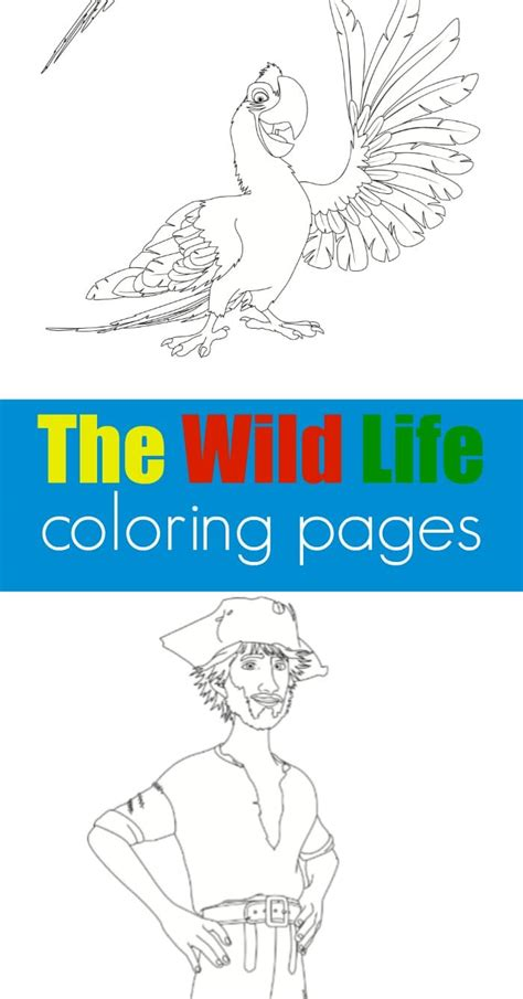 wild life coloring pages  typical mom