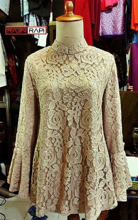 model baju kebaya modern berjilbab cantik  modis model