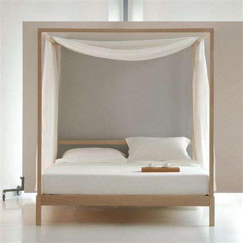 letti a baldacchino in legno letti a baldacchino di design letto in legno con veli