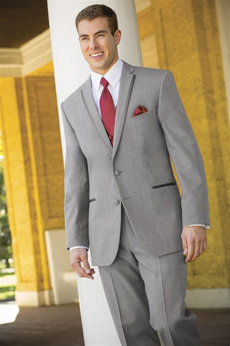 stephen geoffrey heather grey aspen slim fit tuxedo jim