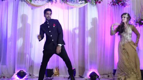 wedding dance performance indian bride  groom