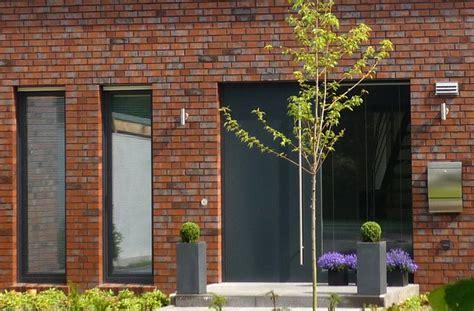 Haus Roter Klinker by Architektenhaus Roter Klinker Ms Eingang Haus Ideen