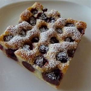 Kirschkuchen Blech Pudding : die besten 25 kirschkuchen ideen auf pinterest ~ Lizthompson.info Haus und Dekorationen