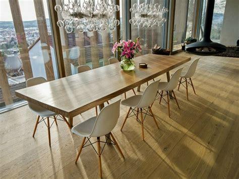 chaises salle manger design mesa de carvalho com impressionantes 350 anos