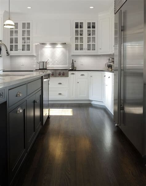 white kitchen with black island transitional white kitchen w black island transitional