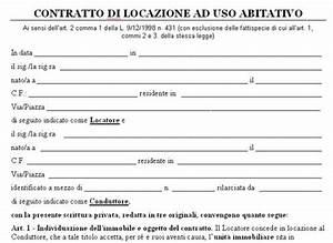 Esempio contratto di locazione transitorio Lettera43 it