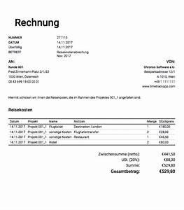 Layout Rechnung : reisekostenabrechnung abrechnung f r projektausgaben und reisekosten ~ Themetempest.com Abrechnung