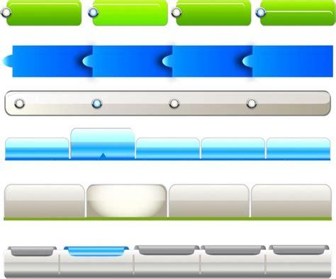 navigation bar templates web navigation templates free vector in adobe illustrator ai ai encapsulated postscript