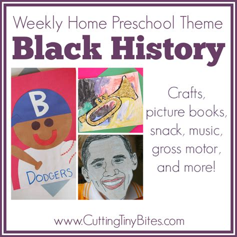 black history weekly home preschool what can we do with 432 | BlackHistoryPin
