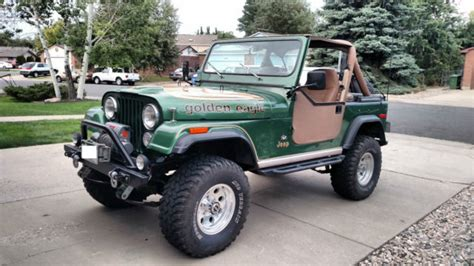 jeep eagle for sale 1977 jeep cj7 golden eagle sport utility 2 door 5 0l