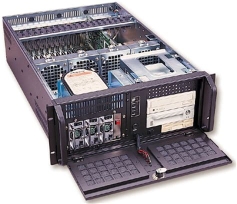 Wall Mount Rack Enclosure Server Cabinet by Rackmount Mart 4u Rackmount Chassis Rm4020