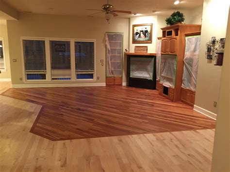 2000 Sq. Ft. Wood Floor Refinish in Eagle Idaho with U.V