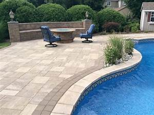 Pequannock, NJ Pool Patio - Traditional - Pool - newark
