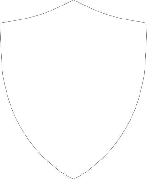 shield outline clip art  clkercom vector clip art