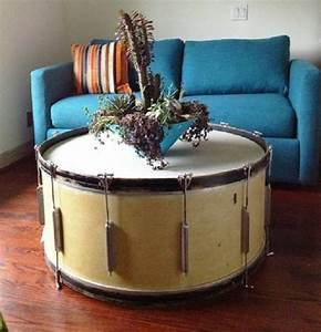 25 best ideas about drum coffee table on pinterest drum for Concrete drum coffee table