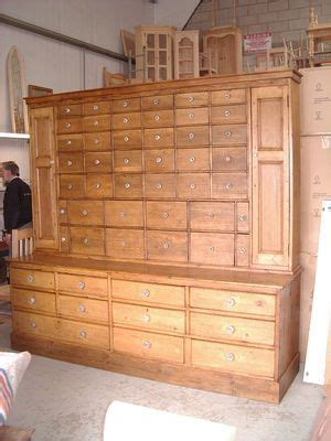 wood cabinet kitchens big antique pine 53 multi drawer apothecary dresser 6461