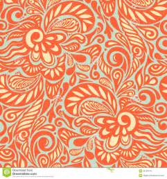 Abstract Floral Design Pattern