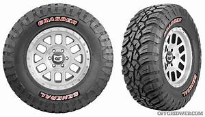 unpaved testing the new general grabber x3 tire recoil With 31 general grabber red letter